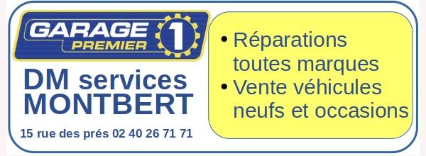 Sponsor Garage DM services logo pour page d'accueil